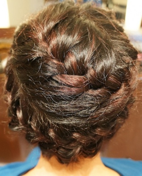 back of valentino braid