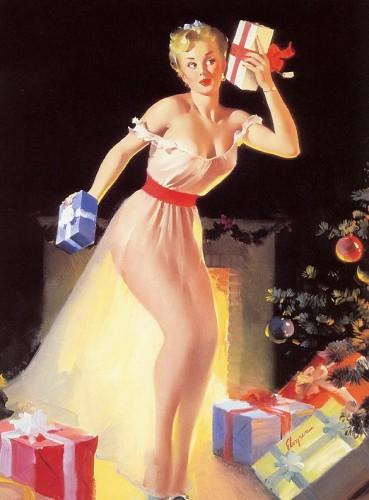elvgren christmas